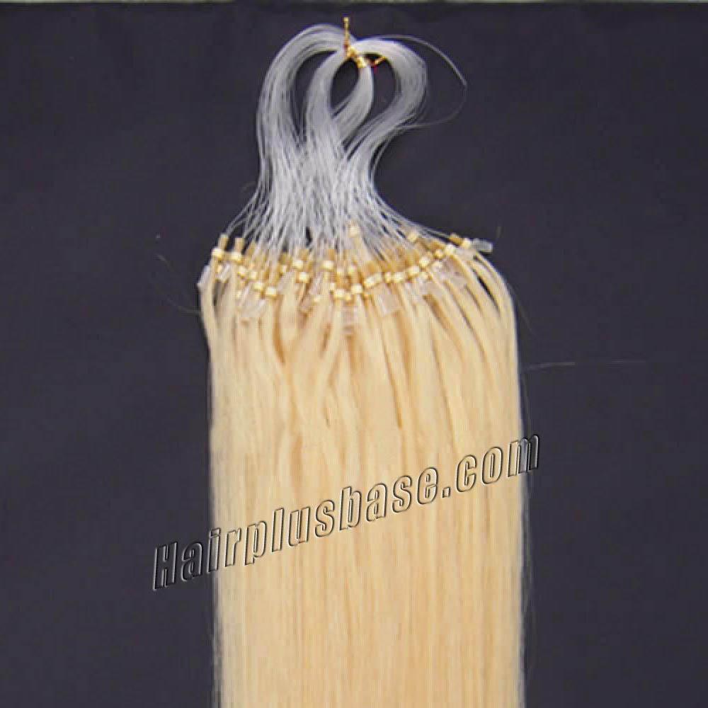 16 inch 613 bleach blonde micro loop human hair extensions 100s 16 inch 613 bleach blonde micro loop human hair extensions 100s no 2 pmusecretfo Image collections