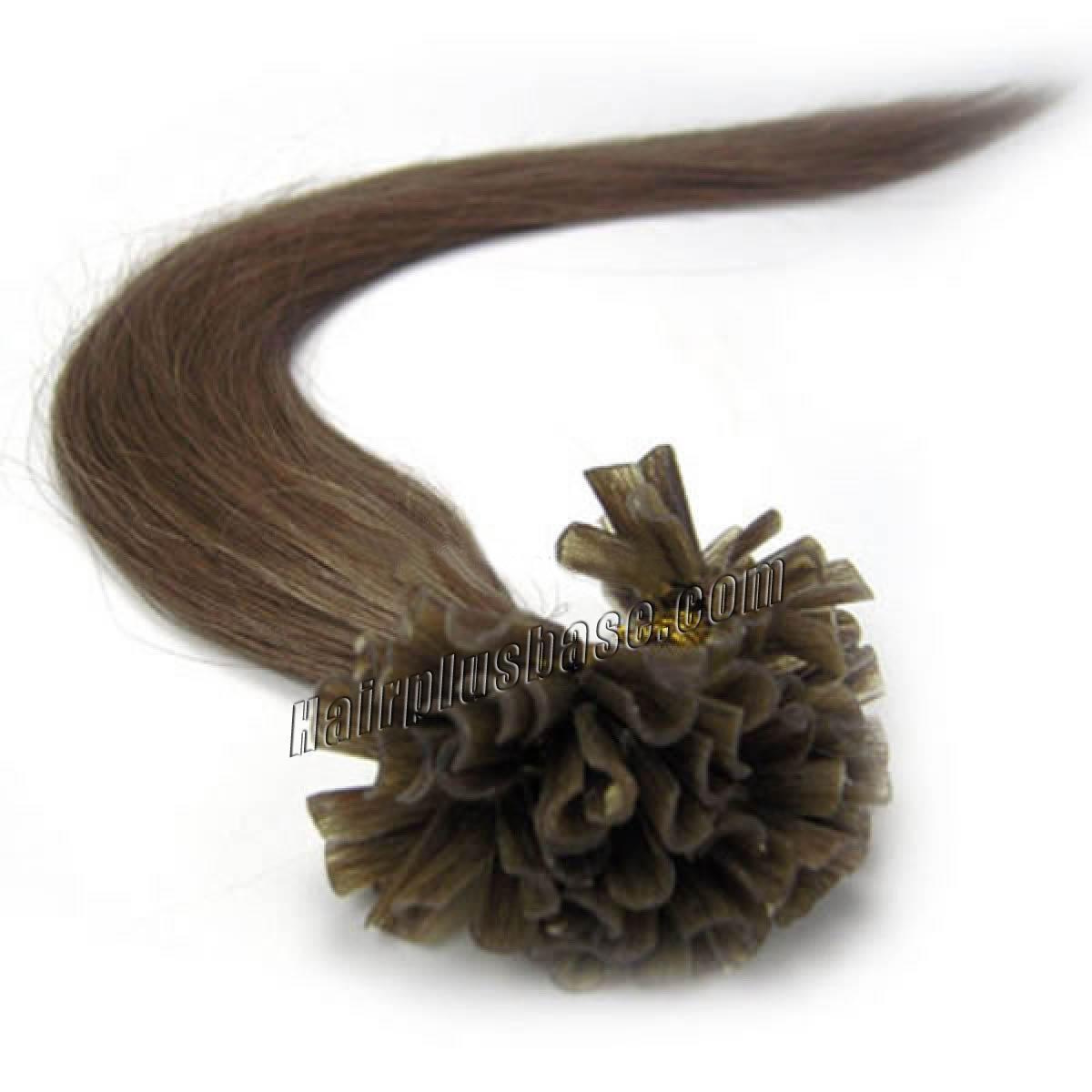 18 inch 8 ash brown nail tip human hair extensions 100s 18 inch 8 ash brown nail tip human hair extensions 100s no 1 pmusecretfo Image collections