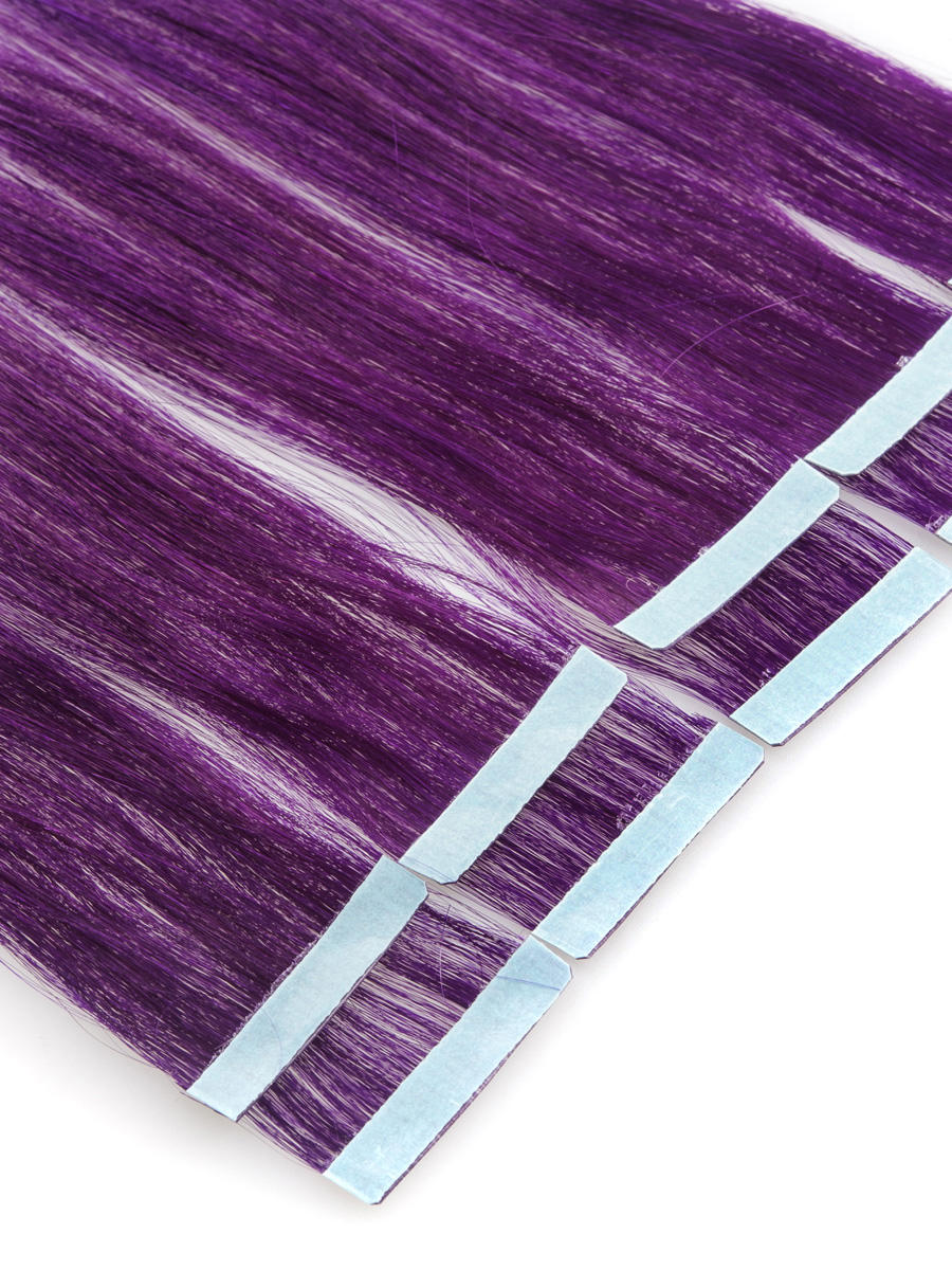 18 inch funky purple tape in hair extensions straight 10pcs 18 inch funky purple tape in hair extensions straight 10pcs no 1 pmusecretfo Images