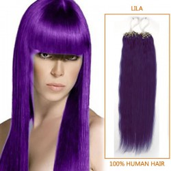 18 Inch Lila Micro Loop Human Hair Extensions 100S