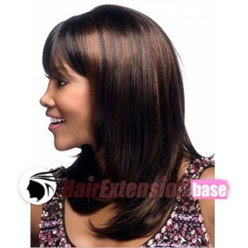 18 inch straight long african american hair wigs auburn highlight 18 inch straight long african american hair wigs auburn highlight no 1 pmusecretfo Image collections