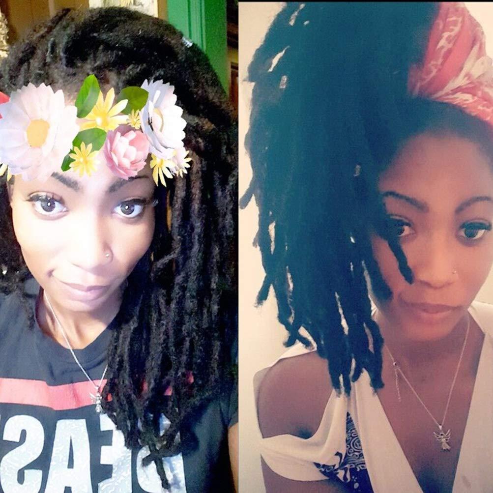 3 Bundles Afro Kinkys Bulk Human Hair - Afro Bulk Braiding Hair for Dreadlocks - Loc Braiding Hair Color 14