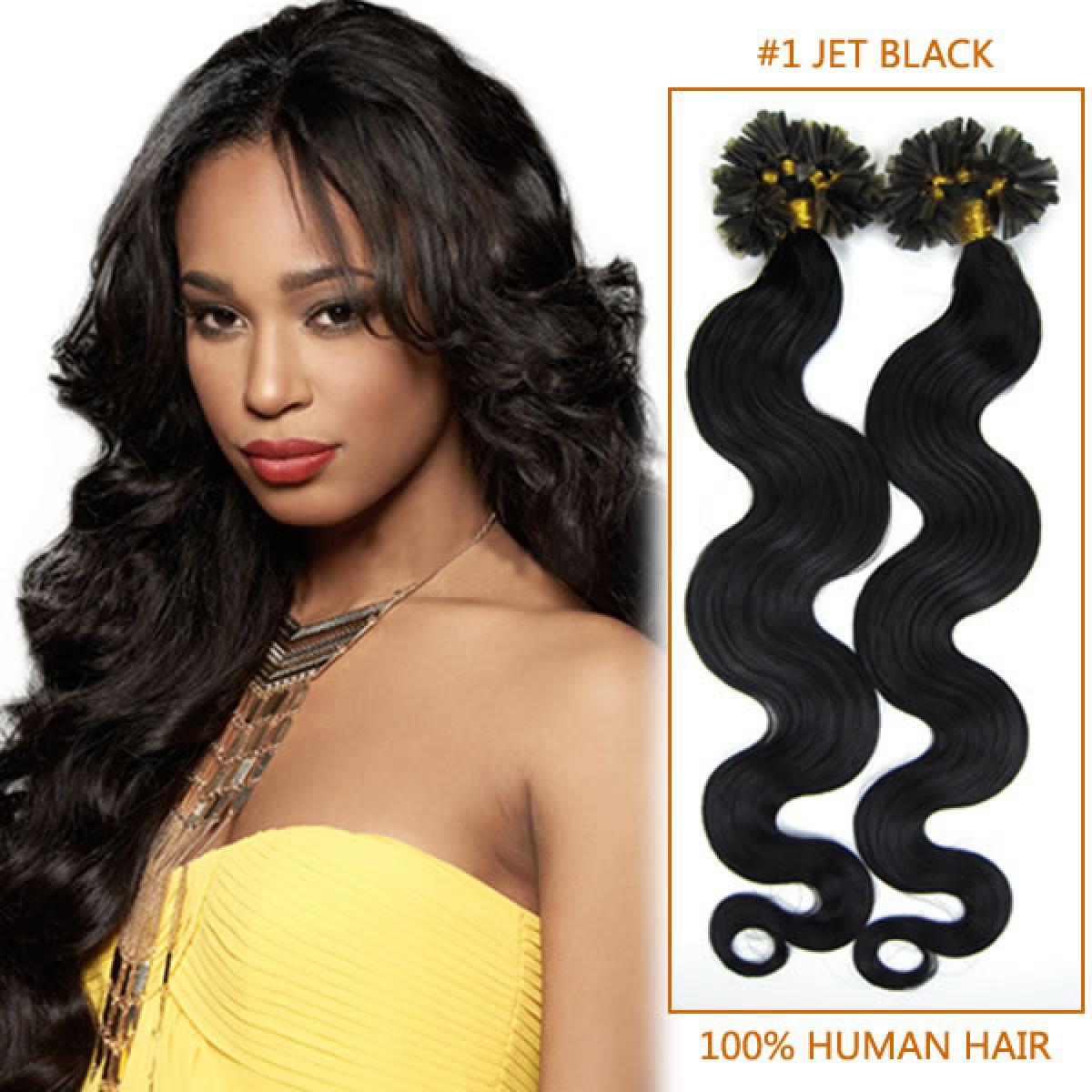 Inch 1 jet black wavy nail tip human hair extensions 100s 20 inch 1 jet black wavy nail tip human hair extensions 100s pmusecretfo Gallery
