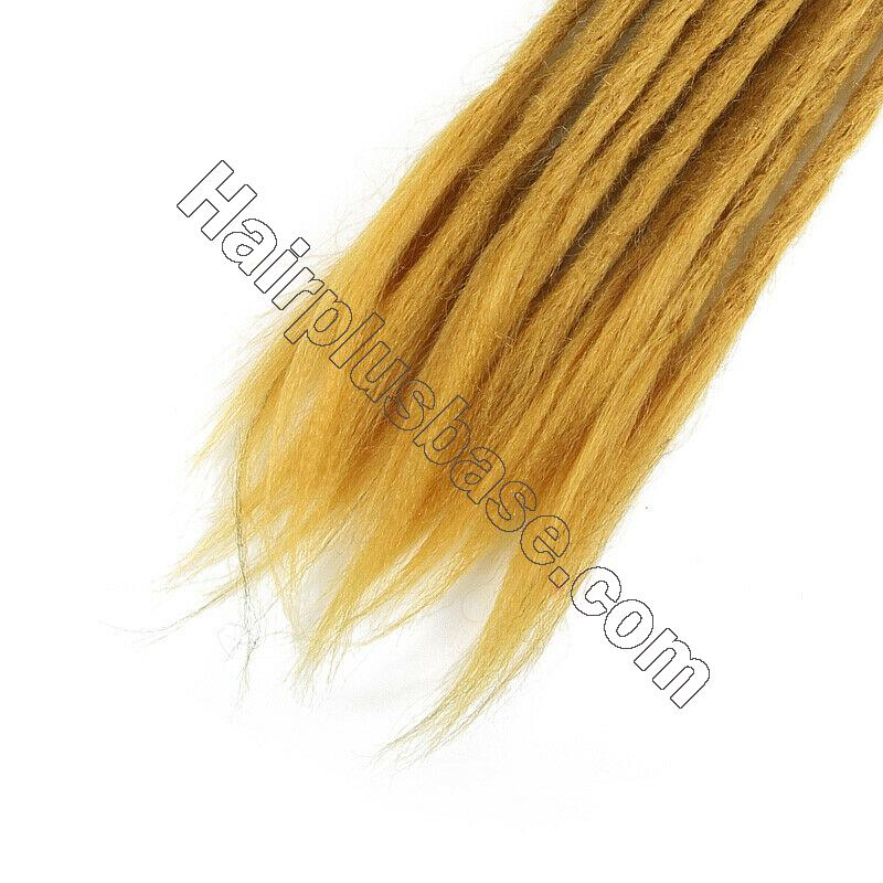 20pcs 20 Inch Handmade Dreadlocks Single Ended Locs Synthetic Dreads Hair Extensions 15