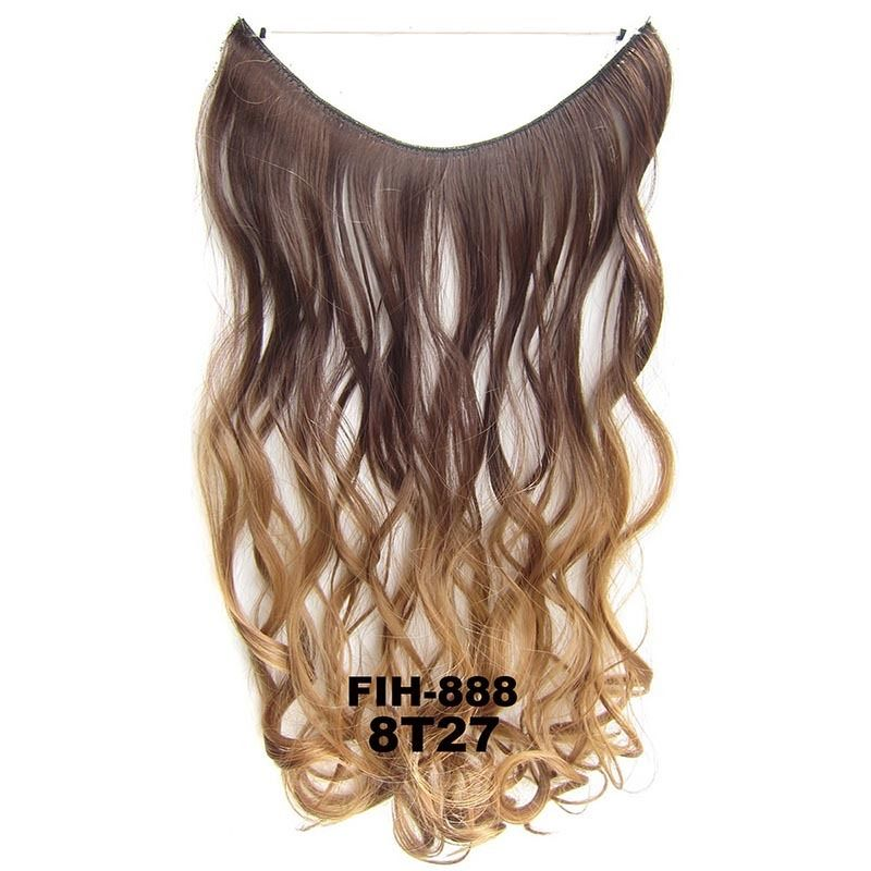 22 Hidden Invisible Dip Dye Ombre Wire Secret Miracle Hair