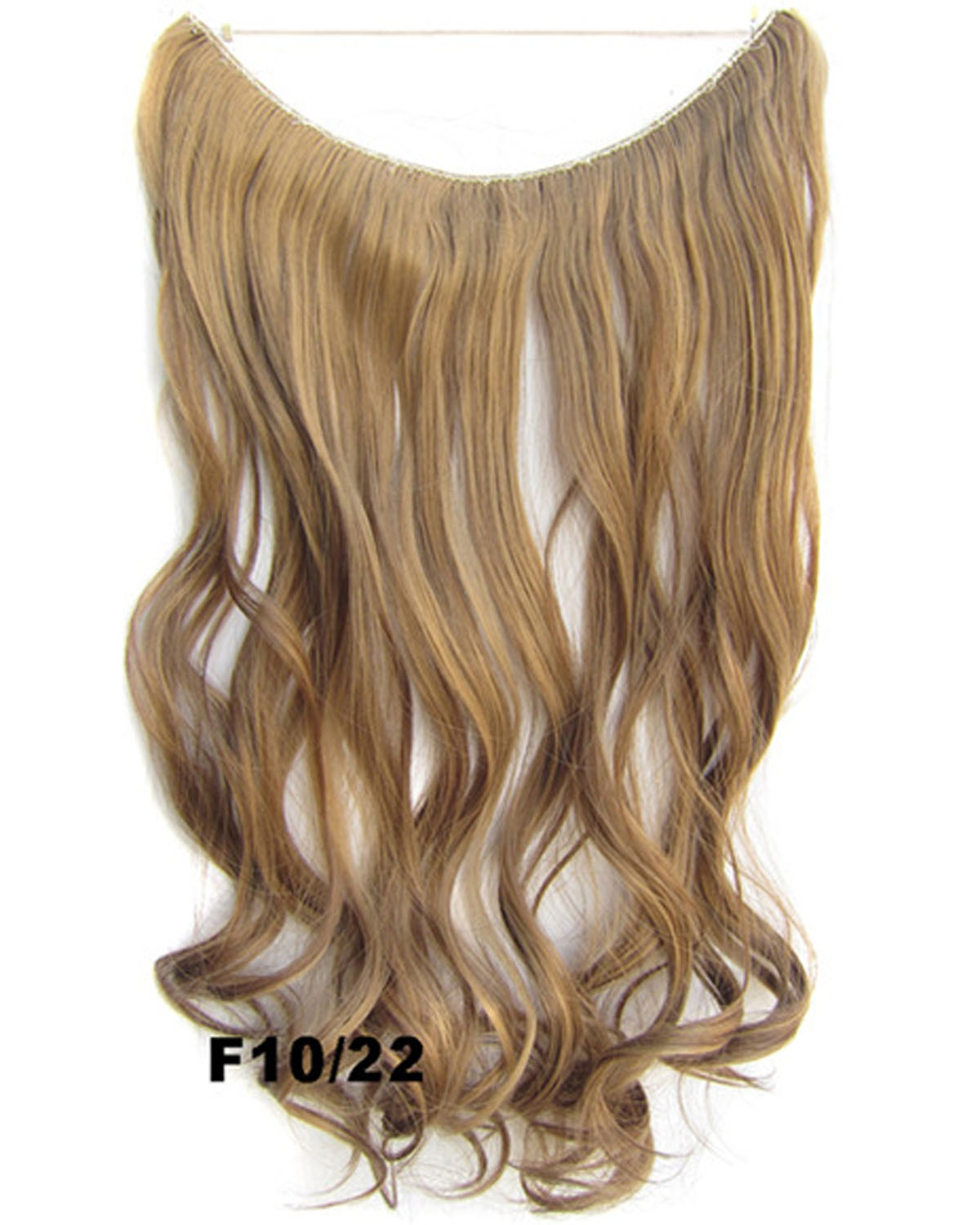 22 Inch Great Curly and Long Miracle One Piece Miracle Wire Flip in Synthetic Hair Extension F10/22 50g