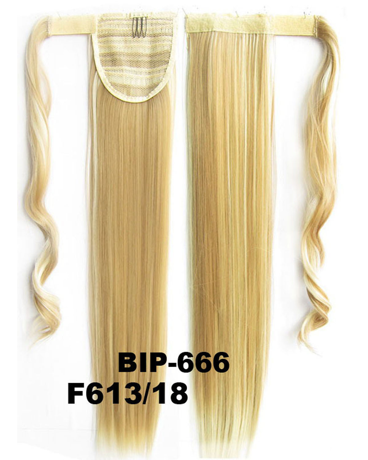 22 Inch Lady Charming Straight and Long Wrap Around Synthetic Hair Ponytail F613/18