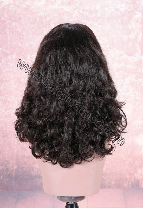 220% Density Double Drawn 4.5 Inch Deep Part Beyonce Sexy Wavy Lace Front Wigs Indian Remy Hair 1