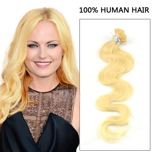 Inch 100s bushy body wavy nailu tip human hair extensions 613 26 inch 100s bushy body wavy nailu tip human hair extensions 613 lightest blonde pmusecretfo Image collections