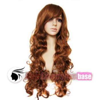 26 Inch Wavy Long Synthetic Hair Wigs #33