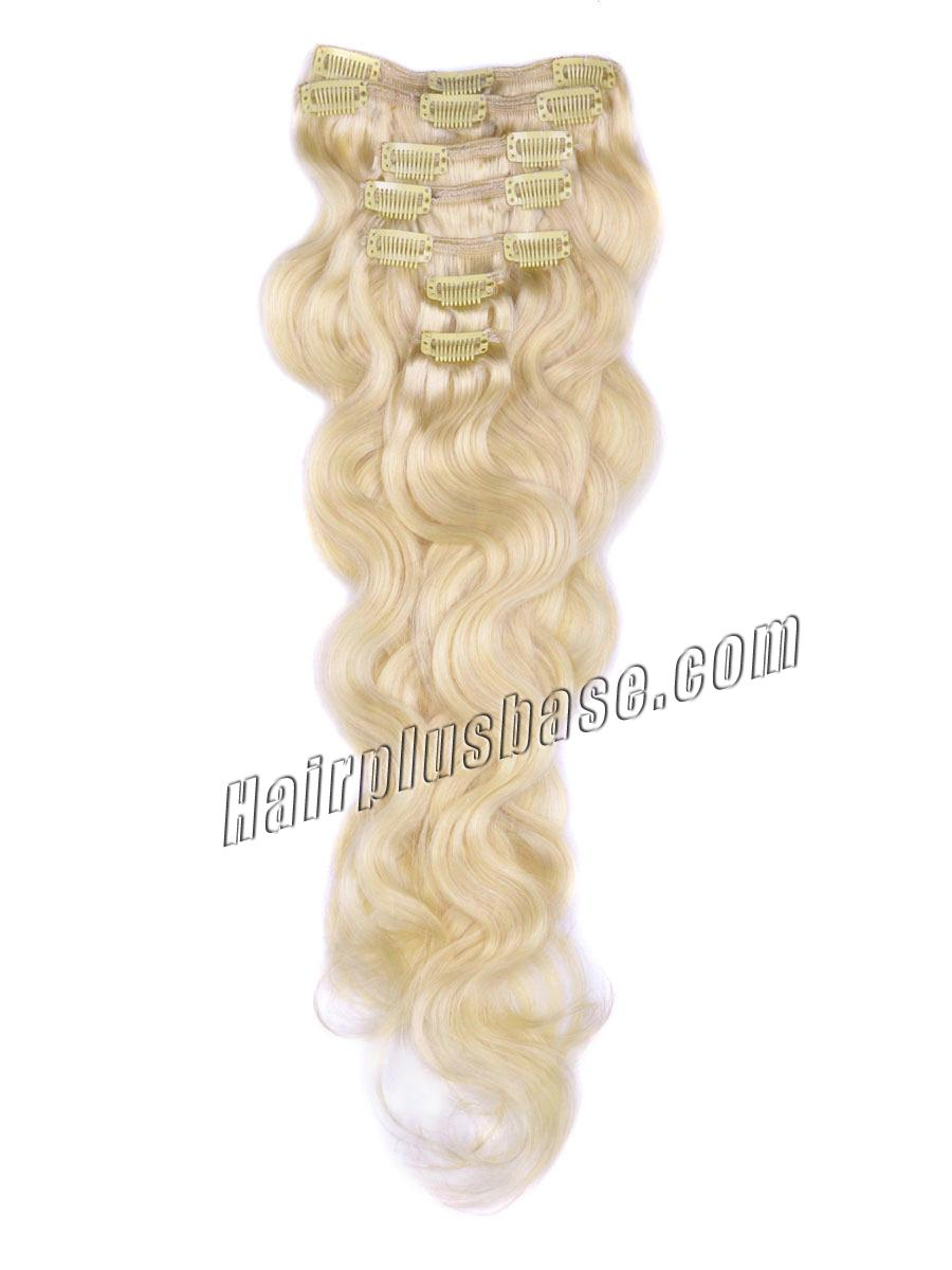 28 inch 613 bleach blonde instant clip in hair extensions body 28 inch 613 bleach blonde instant clip in hair extensions body wave 7 pcs no pmusecretfo Choice Image