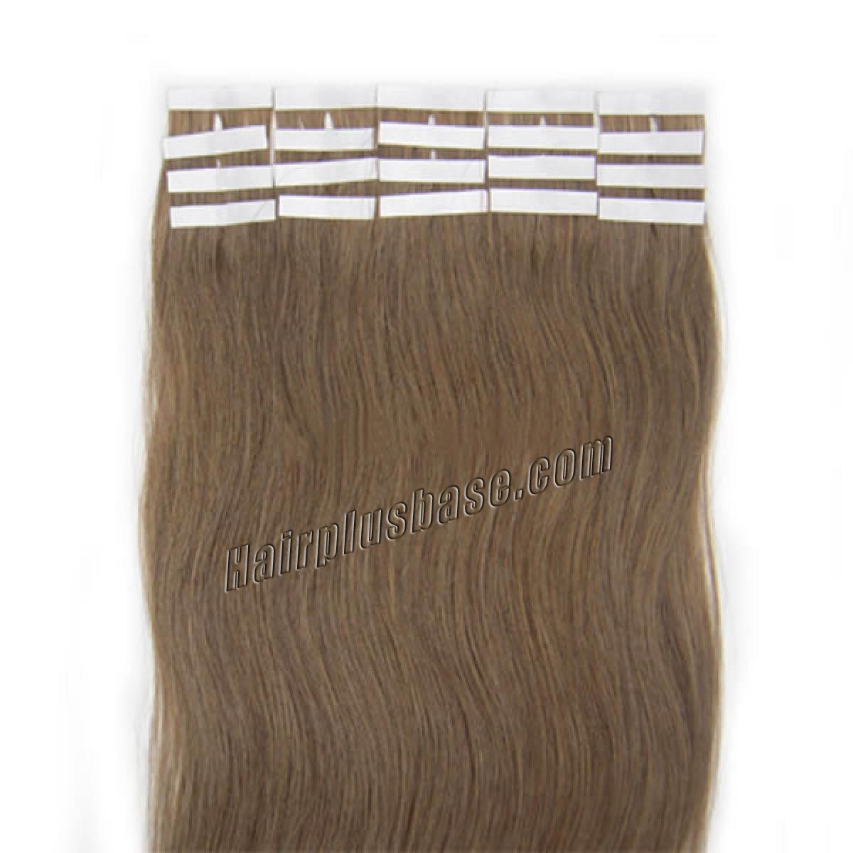 34 inch  12 golden brown tape in human hair extensions 20pcs 11181 1v