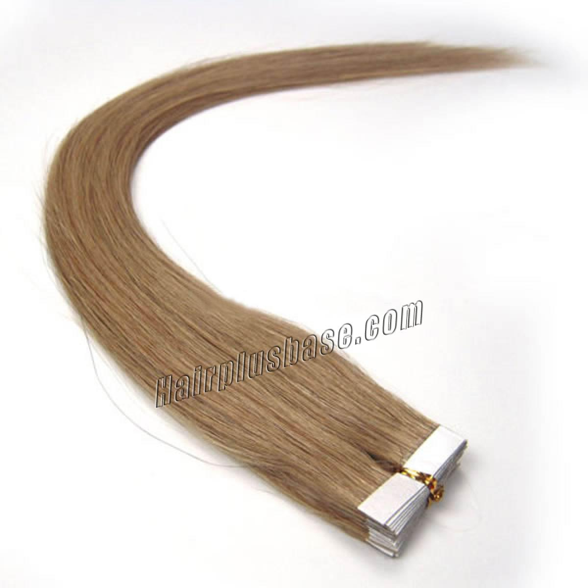 34 inch  16 golden blonde tape in human hair extensions 20pcs 11180 0v