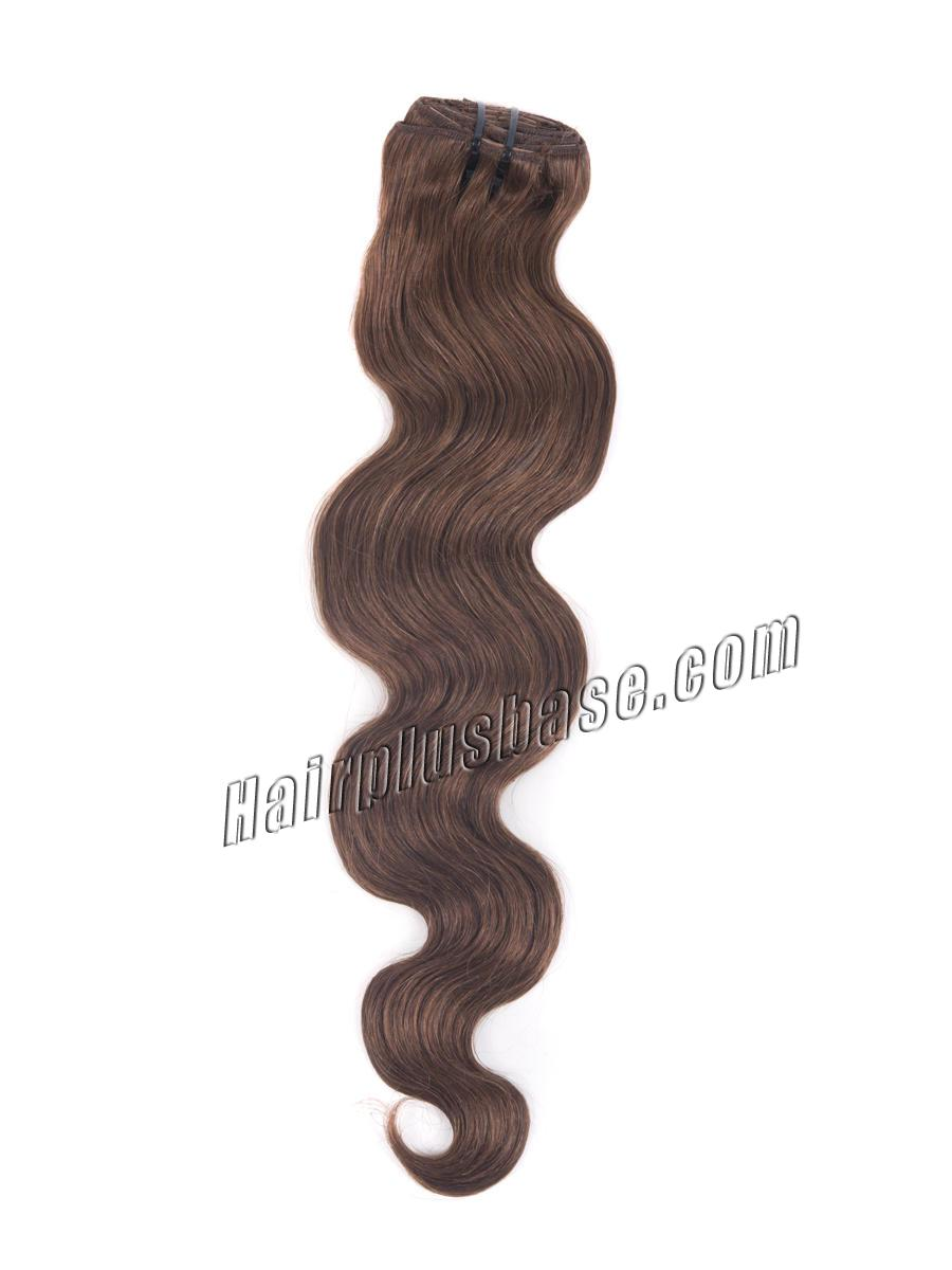 34 inch  33 rich copper red clip in hair extensions body wave 11 pcs 21178 2v