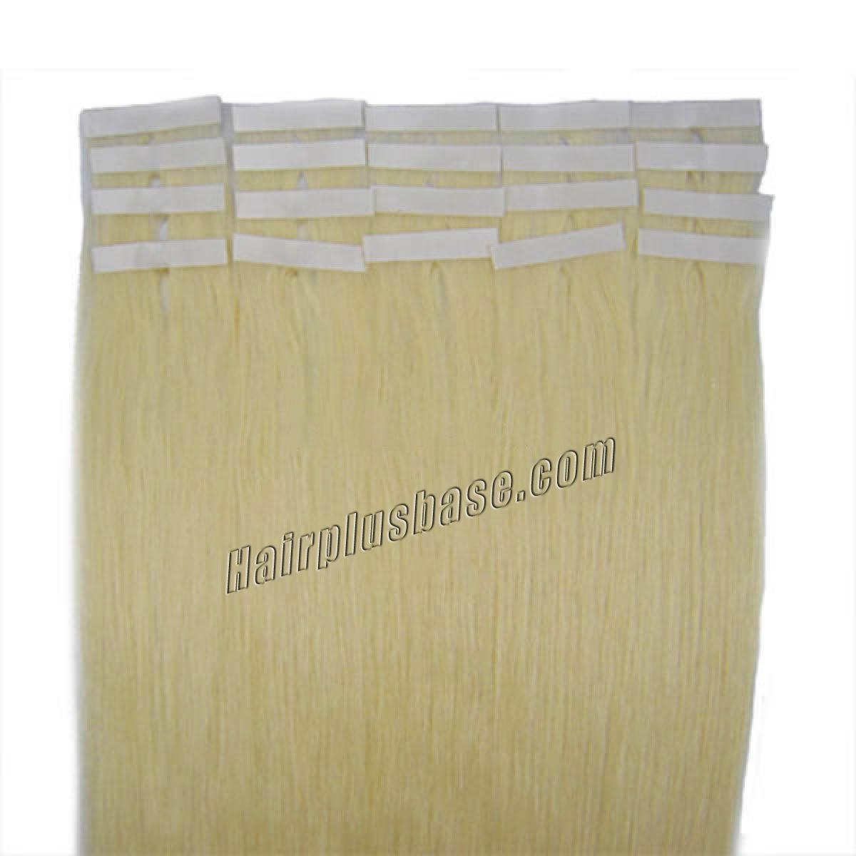 34 inch  60 white blonde tape in human hair extensions 20pcs 11176 1v
