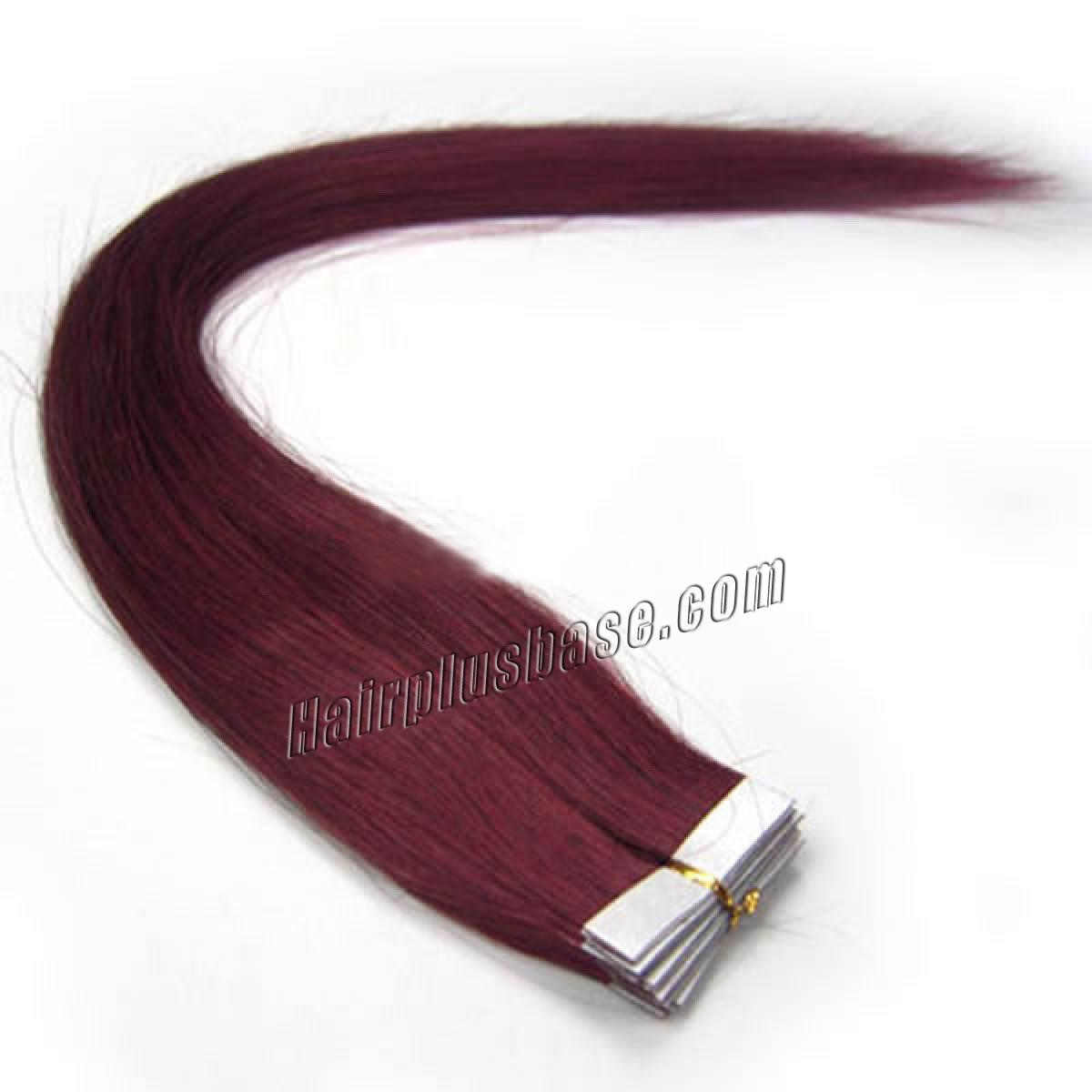 34 inch bug tape in human hair extensions 20pcs 11173 0v