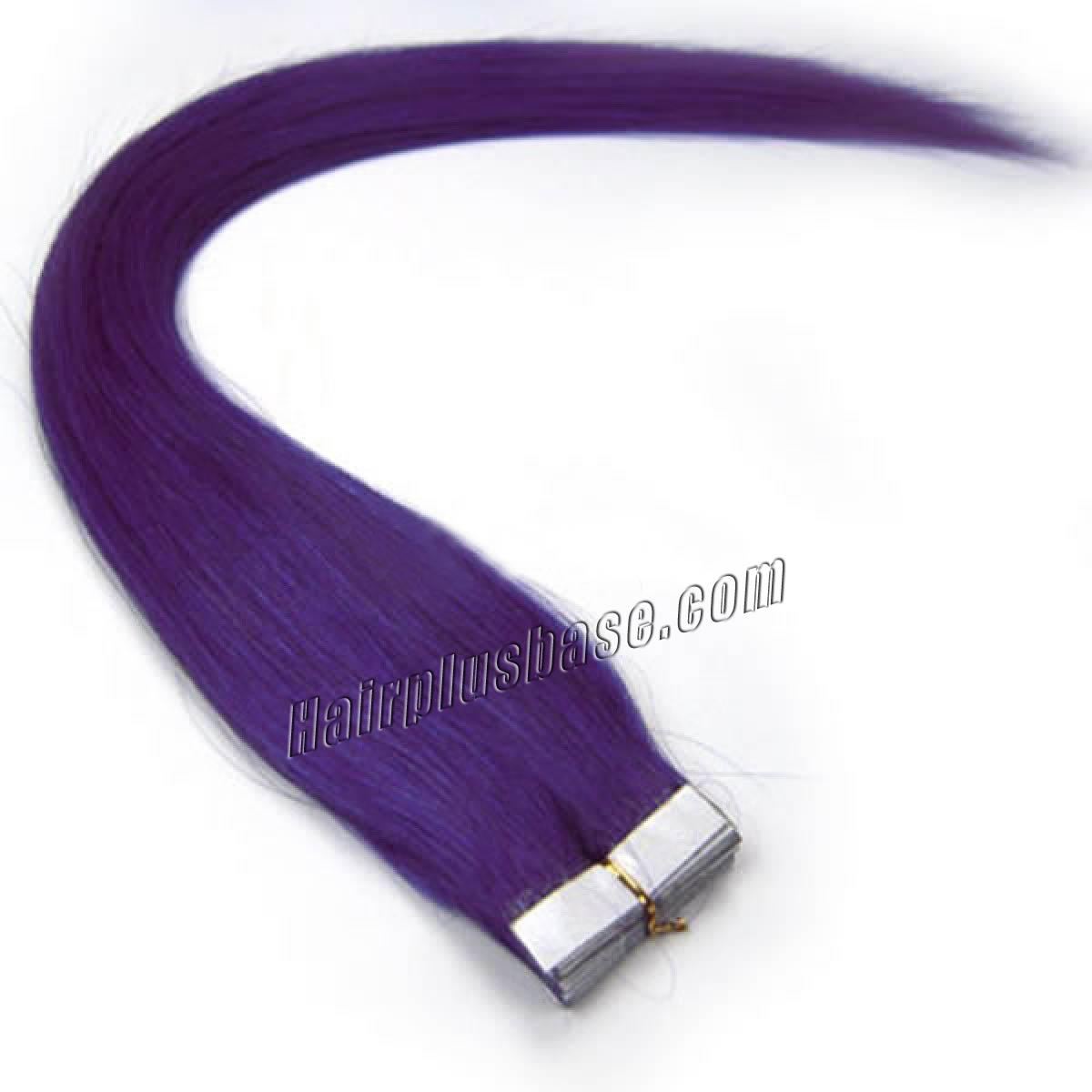 34 inch lila tape in human hair extensions 20pcs 11172 0v