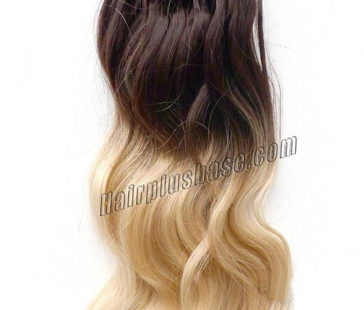 34 inch ombre body wave micro loop hair extensions two tone 100s 22625 1v