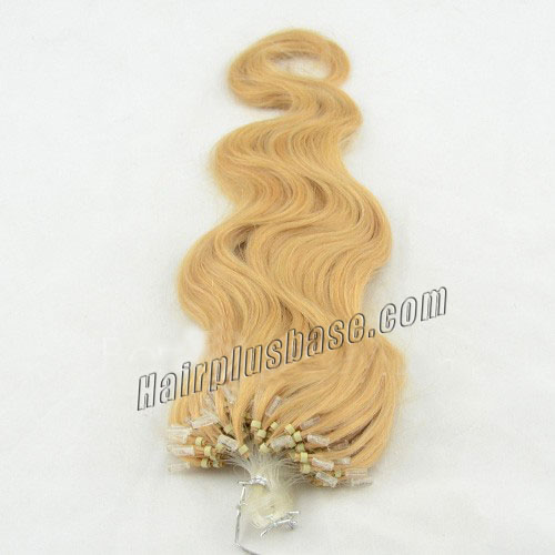 34 inch pretty  27 613 body wave micro loop hair extensions 100 strands 21626 1v