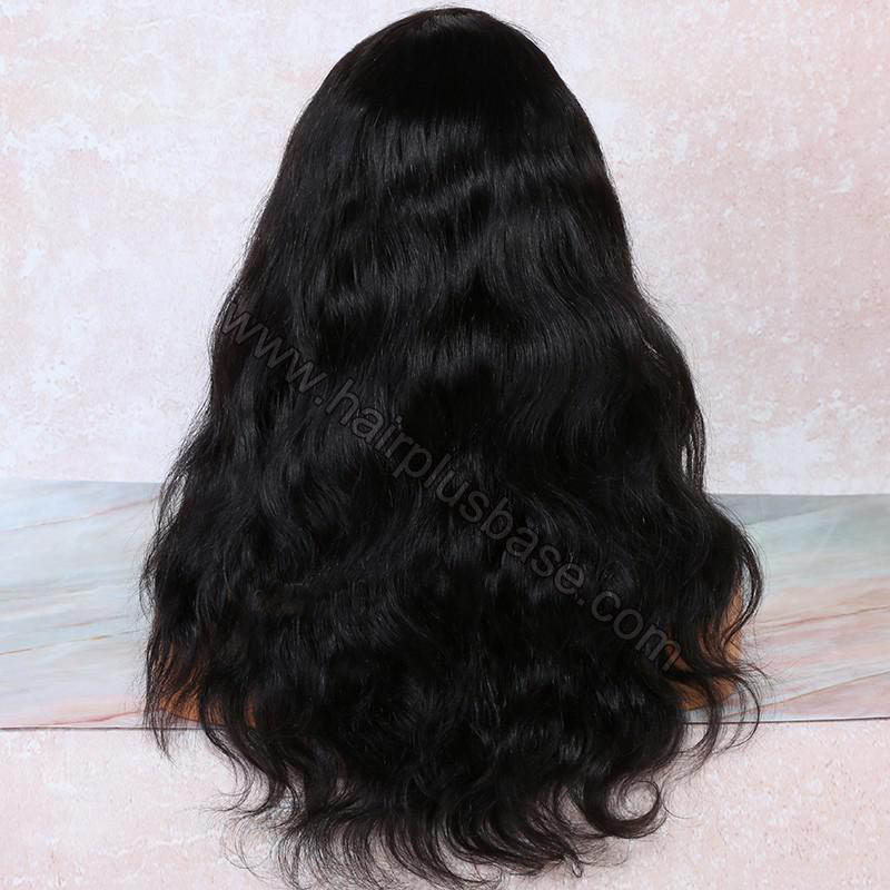 4.5 Inch Deep Part High Density Body Wave Lace Front Wigs 250% Density, Indian Remy Hair 1