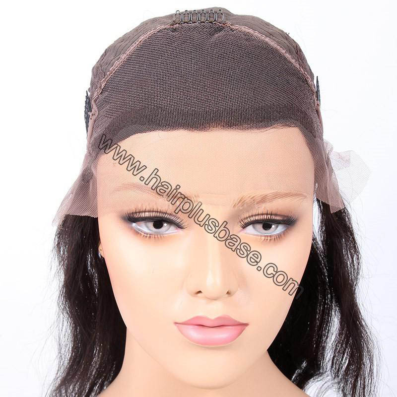 4.5 Inch Deep Part High Density Picture Wave Lace Front Wigs 250% Density, Indian Remy Hair 1