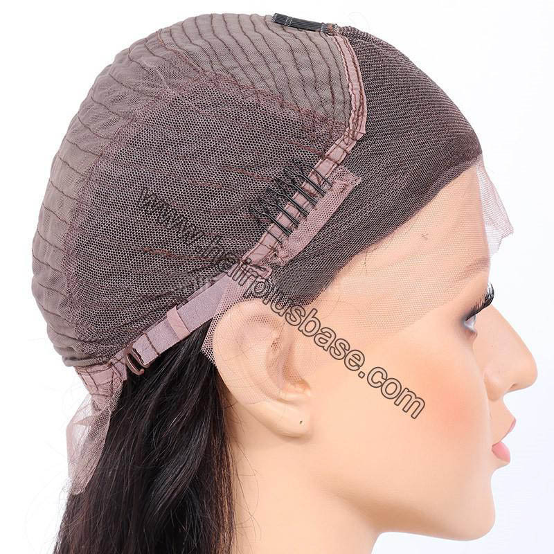 4.5 Inch Deep Part High Density Picture Wave Lace Front Wigs 250% Density, Indian Remy Hair 2