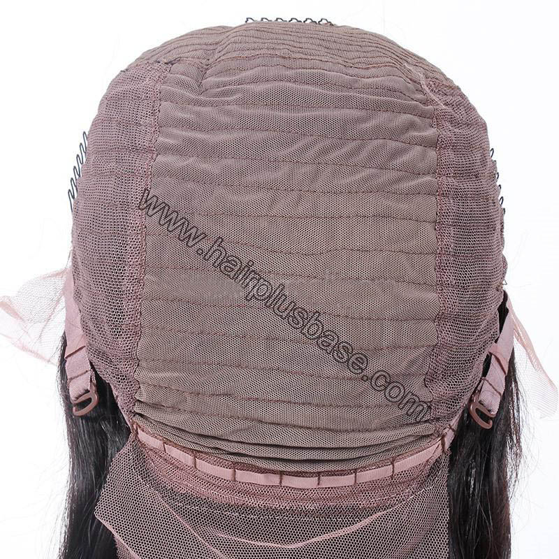 4.5 Inch Deep Part High Density Picture Wave Lace Front Wigs 250% Density, Indian Remy Hair 3