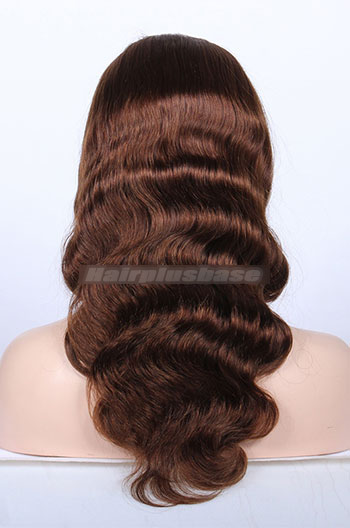 16 Inch Body Wave #4/30 Highlight Indian Remy Hair Full Lace Wigs