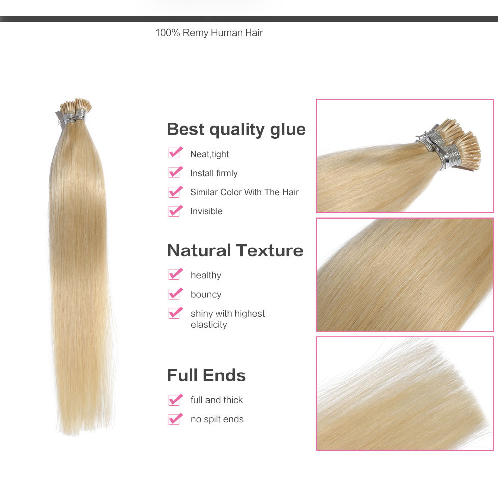 6 30 inch 60 white blonde stick i tip straight real human hair 6 30 inch 60 white blonde stick i tip straight real human hair extensions pmusecretfo Gallery