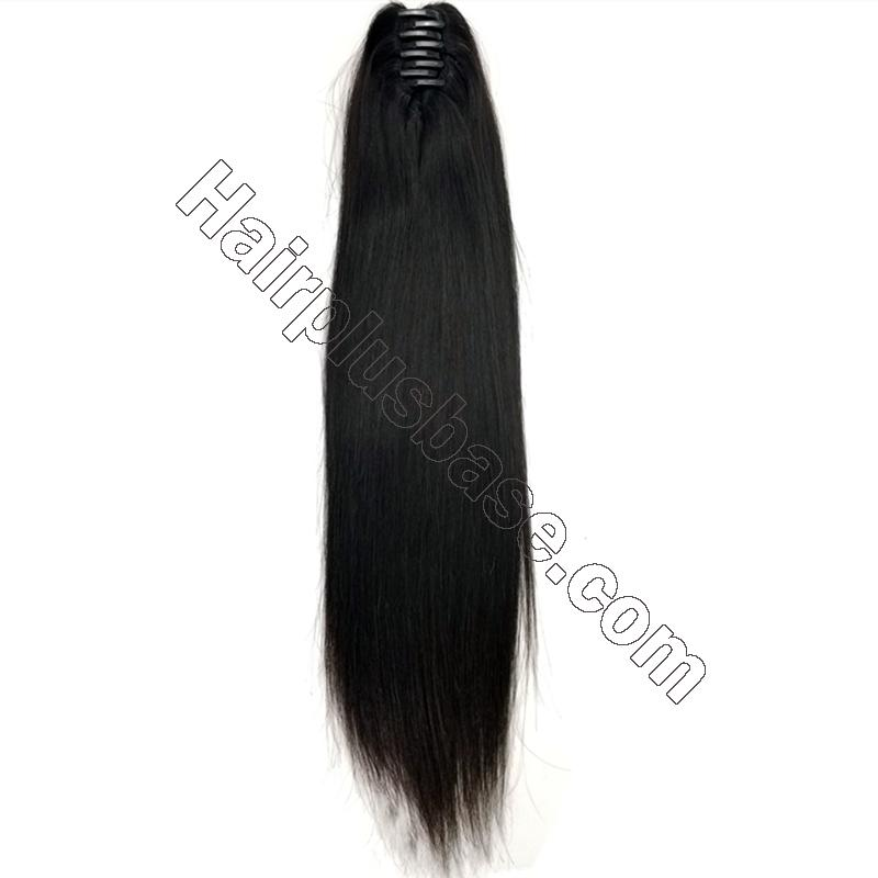 8 - 30 Inch Claw Ponytail Extension Human Hair 2