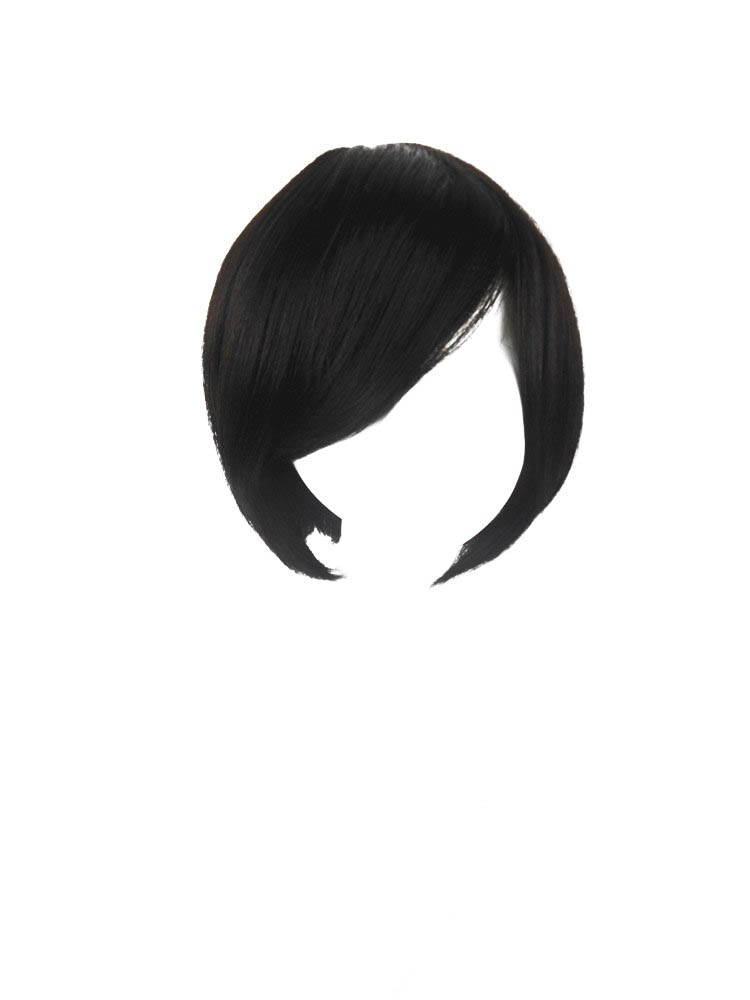 All Clap Hand Wigs Real Hair Wigs Short Temperament Wig Top Hairpiece
