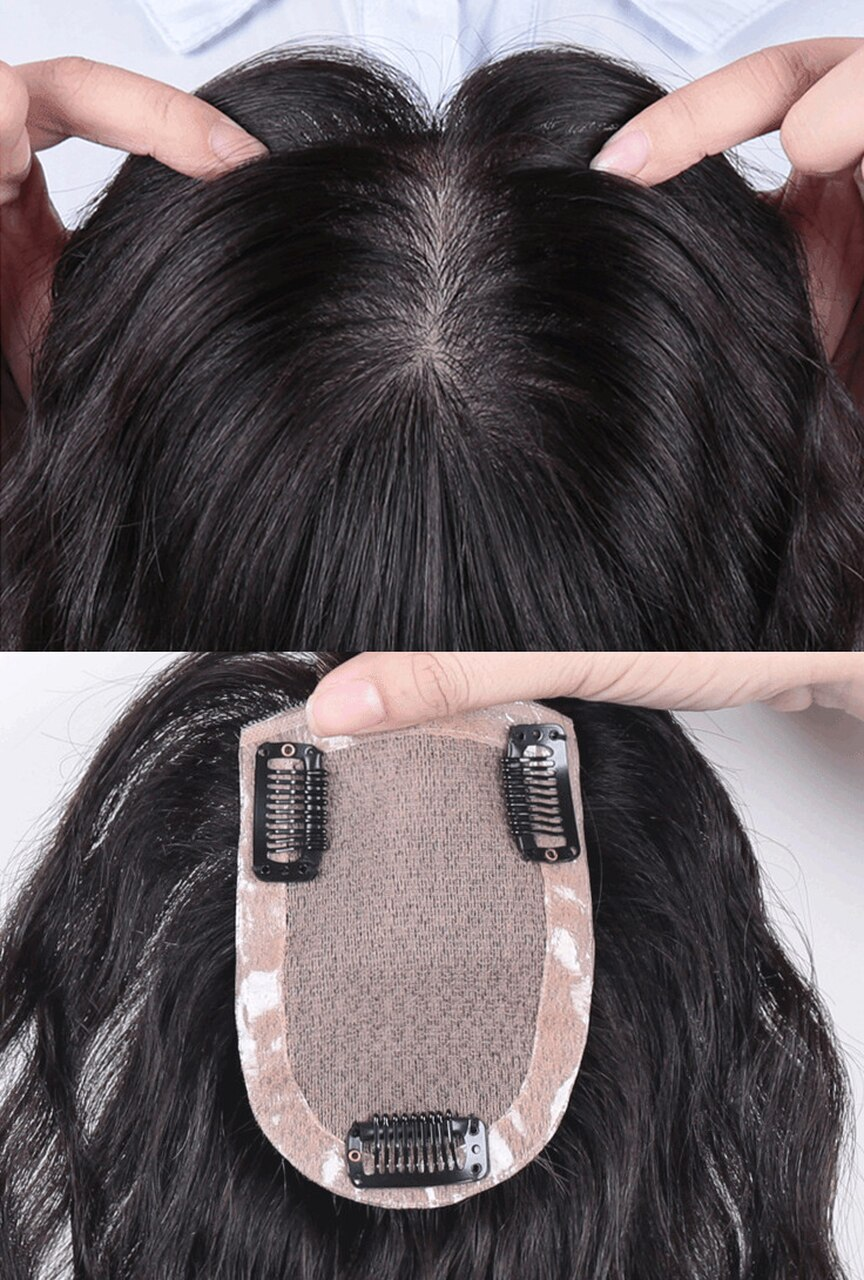 All Hand  Made Women 's Permanent Hair Reissue Of Hot Film 100% Human Hair Top Hairpiece 1
