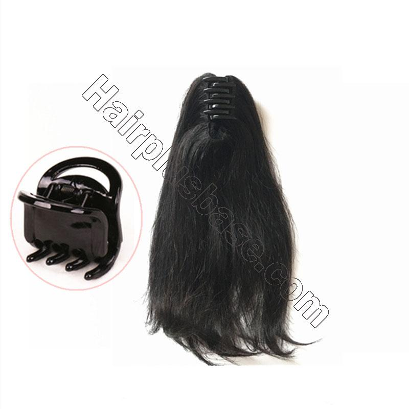 Best Claw Ponytail Extension Human Hair 2