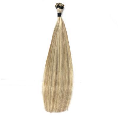 Best Hand Tied Hair Extensions Human Hair Wefts 6 Bundles/Pack #8/613