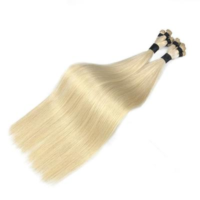 Best Hand Tied Hair Extensions Human Hair Wefts 6 Bundles/Pack Straight #60