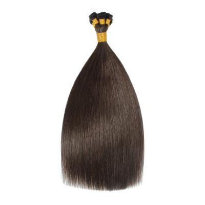 Best Hand Tied Hair Extensions Human Hair Wefts Straight 6 Bundles/Pack