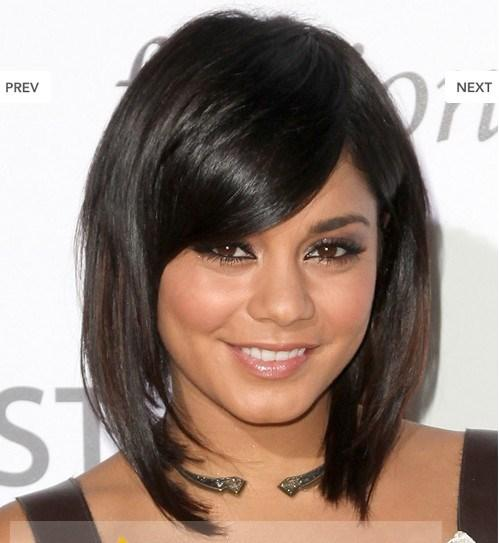 Bob Short Black Celebrity Hairstyle For Women