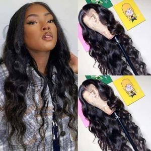 Body Wave 5x5 Lace Closure Wigs 180% Density 8-40inches Long Wigs