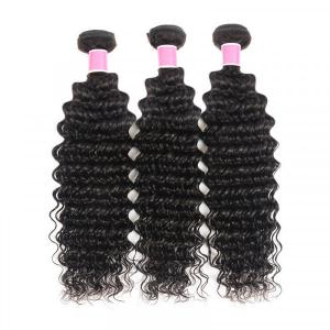 Brazilian Deep Wave 3 Bundles Virgin Hair Human Hair Weave Cheap Human Hair Weave