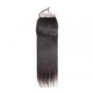 Brazilian Hair Closures Straight Hair Human Hairs For Sale 4*4 Lace Closures