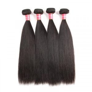 Brazilian Hair Straight 4 BundlesHair Weaving Human Hair