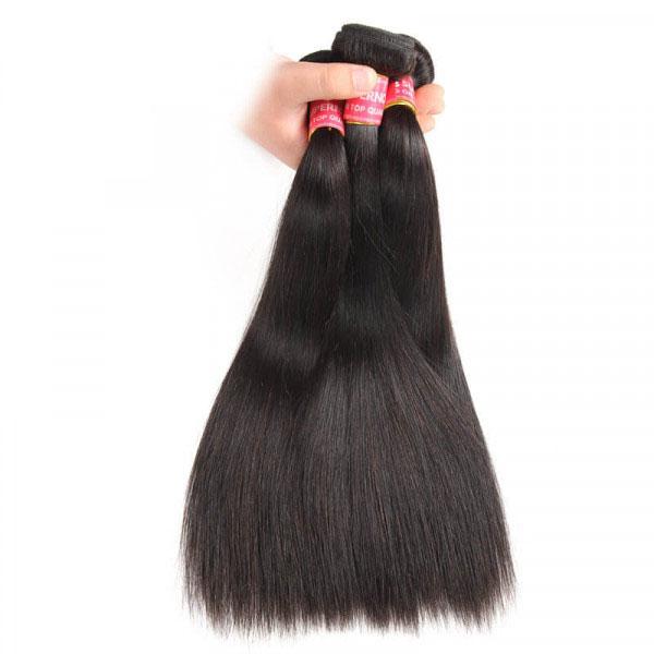 Brazilian Straight Hair 3 Bundles Virgin Hair Bundle Deals 5
