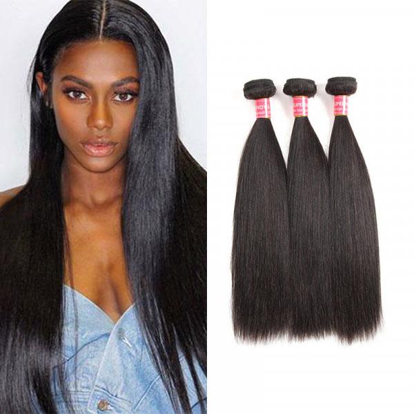 Brazilian Straight Hair 3 Bundles Virgin Hair Bundle Deals 8