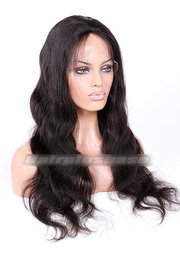 Brazilian Virgin Hair Silk Top Full Lace Wigs Body Wave