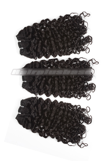 10-24 Inch Luxury Candy Curl 8A Virgin Hair Weave 3 Bundles Deal