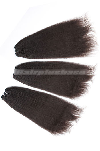 10-24 Inch Luxury Kinky Straight 8A Virgin Hair Weave 3 Bundles Deal