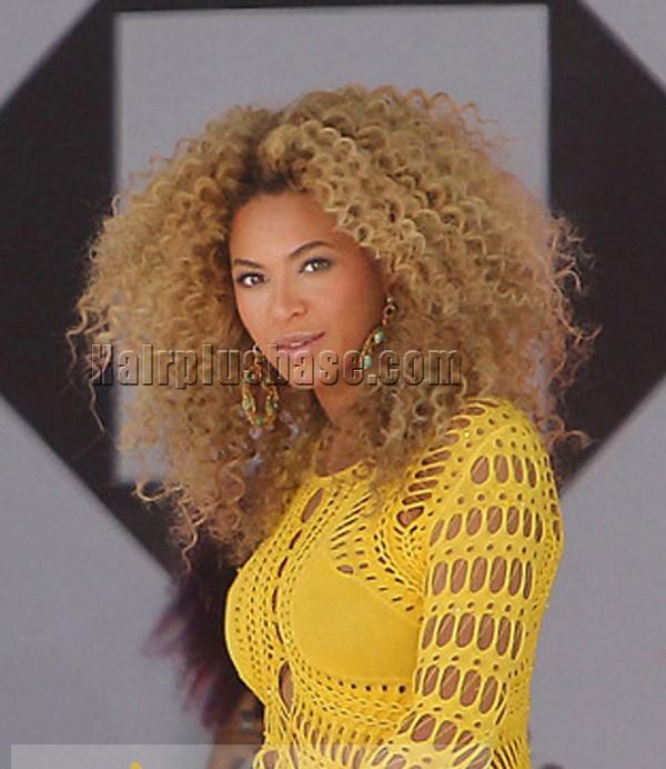 Chic beyonce knowles wig lace front long curly blonde human hair chic beyonce knowles wig lace front long curly blonde human hair no 1 pmusecretfo Choice Image