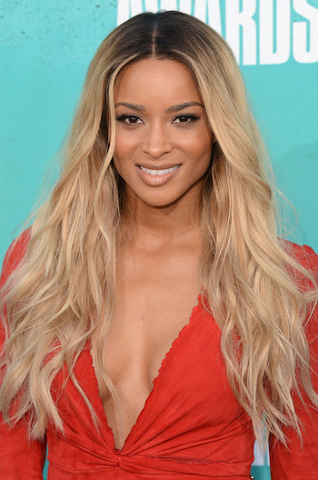 Ciara 22 Inch Long Ombre Blonde Style Wavy Virgin Hair Lace Wigs