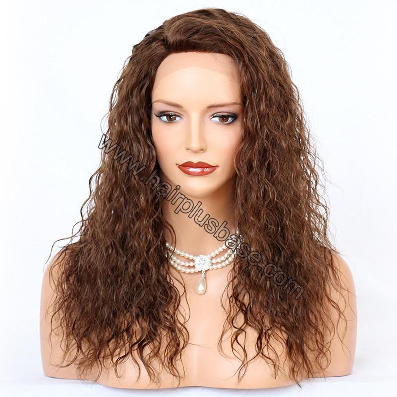 Ciara Style Loose Curl Glueless Lace Front Wigs Brazilian Virgin Human Hair 1
