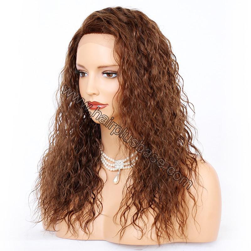 Ciara Style Loose Curl Glueless Lace Front Wigs Brazilian Virgin Human Hair 2